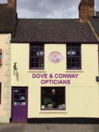Dove & Conway Opticians Shop front